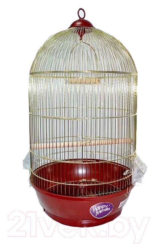 Клетка для птиц Happy Animals, 330 Gold, Китай, золото  - купить со скидкой