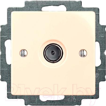 Купить Розетка ABB, Basic 55 1724-0-4280 (слоновая кость), Китай, пластик, Basic 55 (ABB)