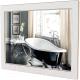 Зеркало для ванной Аква Родос Беатриче 80 / АР0001940 (белый/патина золото) -