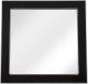 Зеркало для ванной Аква Родос Беатриче 80 / АР0002259 (черный/патина хром) -