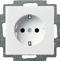 Розетка ABB Basic 55 2011-0-3855 (белый) -