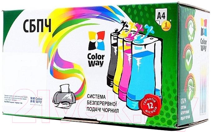 Купить Заправочный комплект ColorWay, IP4840CC-5.5P, Китай, черный