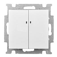 Выключатель ABB Basic 55 1012-0-2154 (белый) -