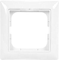 Рамка для выключателя ABB Basic 55 1725-0-1479 (альпийский белый) -