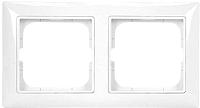 Рамка для выключателя ABB Basic 55 1725-0-1480 (альпийский белый) -