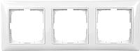Рамка для выключателя ABB Basic 55 1725-0-1481 (альпийский белый) -