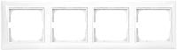 Рамка для выключателя ABB Basic 55 1725-0-1482 (альпийский белый) -