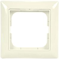 Рамка для выключателя ABB Basic 55 1725-0-1484 (слоновая кость) -