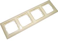 Рамка для выключателя ABB Basic 55 1725-0-1487 (слоновая кость) -