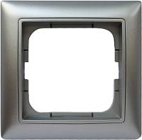 Рамка для выключателя ABB Basic 55 1725-0-1479-1 (алюминий) -