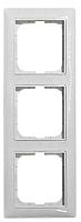 Рамка для выключателя ABB Basic 55 1725-0-1481-1 (алюминий) -