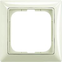 Рамка для выключателя ABB Basic 55 1725-0-1511 (шале-белый) -