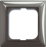 Рамка для выключателя ABB Basic 55 1725-0-1531 (серый) -