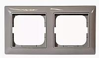 Рамка для выключателя ABB Basic 55 1725-0-1532 (серый) -