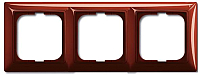 Рамка для выключателя ABB Basic 55 1725-0-1518 (красный) -