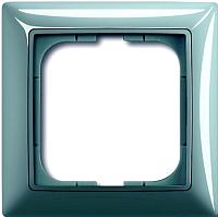 Рамка для выключателя ABB Basic 55 1725-0-1521 (синий) -
