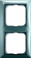 Рамка для выключателя ABB Basic 55 1725-0-1522 (синий) -