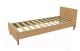 Полуторная кровать Барро КР-017.11.01-26 140x200 (дуб сонома) -