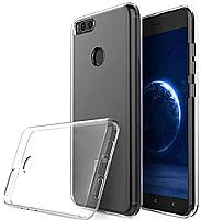Чехол-накладка Huawei для Y6 Prime 2018 (прозрачный) -