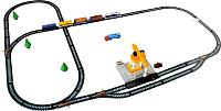 Железная дорога детская Maya Toys С подъемным краном / 2082 -