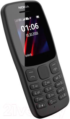 Мобильный телефон Nokia 106 2018 / TA-1114 (серый)