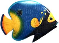 Декор настенный Мир Ротанга Рыбы большие (3шт) -
