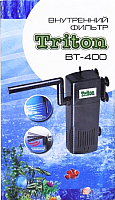 Фильтр для аквариума Balmax Тритон ВТ-400 / 390018 -