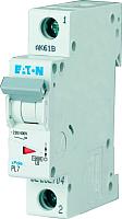 Выключатель автоматический Eaton PL7 1P 6А С 10кА 1М / 262701 -