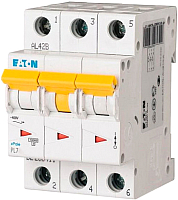 Выключатель автоматический Eaton PL7 3P 16A С 10кА 3М / 263409 -