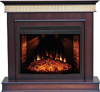 Портал для камина Смолком Murano FS33W (коричневый антик) -