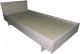 Односпальная кровать Барро КР-017.11.02-03 90x186 (дуб сонома) -