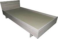 Полуторная кровать Барро КР-017.11.02-13 120x186 (дуб сонома) -