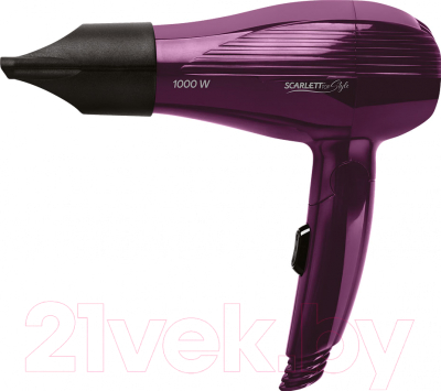 Компактный фен Scarlett SC-HD70T24 (фиолетовый)