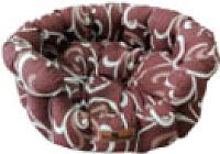Лежанка для животных Happy Friends Ракушка №2 (темный шоколад) -