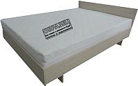 Полуторная кровать Барро КР-017.11.02-13 120x186 (дуб девон) -