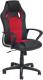 Кресло геймерское Tetchair Racer New экокожа/ткань (черный/красный) -