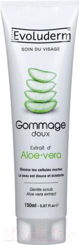 Купить Скраб для лица Evoluderm, Aloe Vera (150мл), Франция