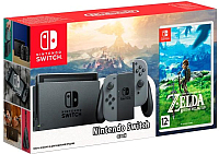 Игровая приставка Nintendo Switch + The Legend of Zelda: Breath of the Wild -
