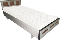 Односпальная кровать Барро М1 КР-017.11.02-03 90x186 (дуб сонома) -