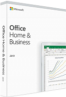 Пакет офисных программ Microsoft Office Home and Business 2019 Russian Medialess (T5D-03248) -