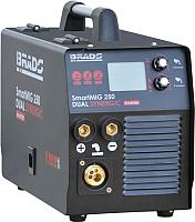 Инвертор сварочный Brado SmartMIG 250 Dual Synergic -
