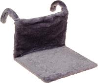 Гамак для кошек Happy Friends Stm 160 (серый) -