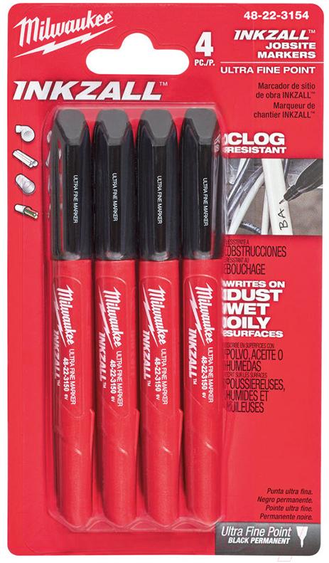Набор маркеров строительных Milwaukee, 48223154, Китай  - купить со скидкой