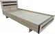Полуторная кровать Барро М2 КР-017.11.02-13 120x186 (дуб сонома) -