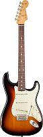 Электрогитара Fender Road Worn 60s Stratocaster 3-Color Sunburst -