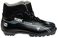 Ботинки для беговых лыж TREK Sportiks 4 N (черный/серый, р-р 38) -