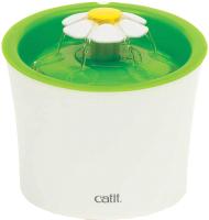 Поилка механическая для животных Catit Senses 2.0 Питьевой фонтанчик-цветок / 43742W -