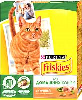 Корм для кошек Friskies С курицей и садовой зеленью (300г) -