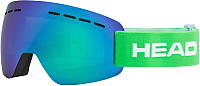 Маска горнолыжная Head Solar Fmr L Unisex Green / 394468 -