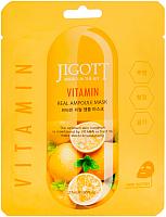 Маска для лица тканевая Jigott Ампульная с витаминами (27мл) -